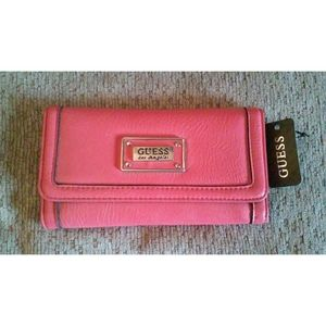 Pink Aleshanee G By Guess Wallet